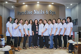 Paradise Nails Staff